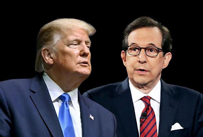 Chris Wallace; Donald Trump