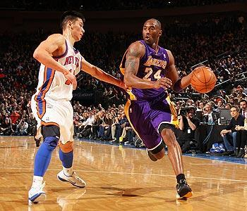 """Kobe Bryant called Lin's sudden rise to stardom a """"great story."""" """"It's a testament to perseverance and hard work,"""" Bryant said"""