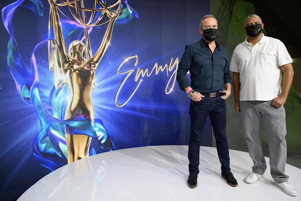 Executive producers Ian Stewart and Reginald Hudlin are overseeing the 72nd Primetime Emmy Awards. (Photo: ABC/Todd Wawrychuk)