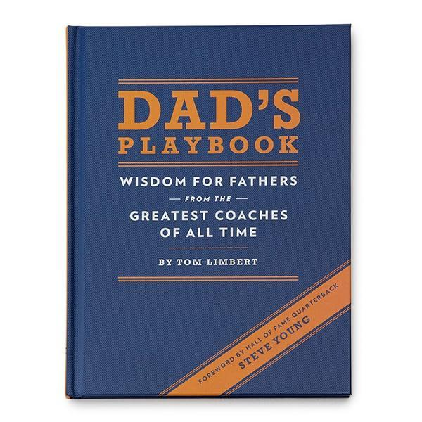 <p>Compiled on the basis that dads and coaches strive to exhibit similar traits, <span><strong>Dad's Playbook</strong></span> ($8) is a beautiful collection of more than 100 quotes on motivation, mentorship, discipline, and love - straight from the mouths of the greatest sports coaches of all time.</p>
