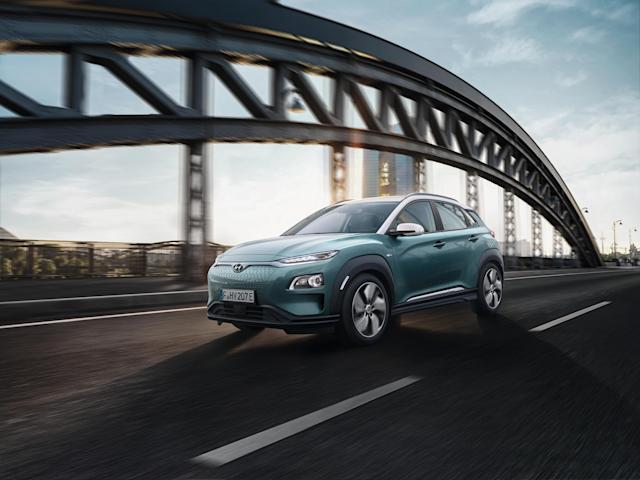 The Hyundai Kona Electric, winner of Which?'s product of the year. Photo: Hyundai