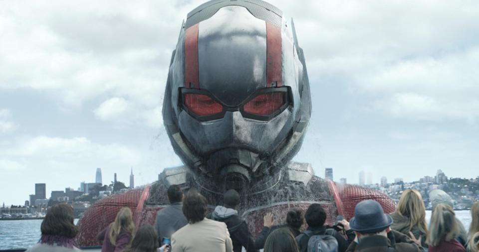 Paul Rudd as Giant-Man in <em>Ant-Man and the Wasp</em>. (Photo: Disney)