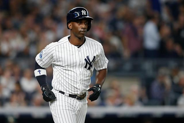 Andrew McCutchen showcased his superlative batting eye and enough of a power-speed combination to warrant a solid multiyear deal. (Getty Images)