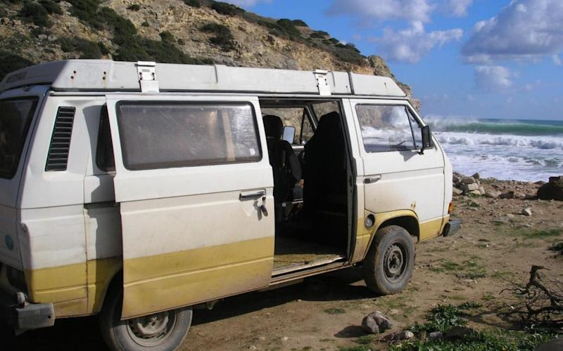 Volkswagen (VW) T3 Westfalia camper van which police mention in connection with the disappearance of Madeleine McCann