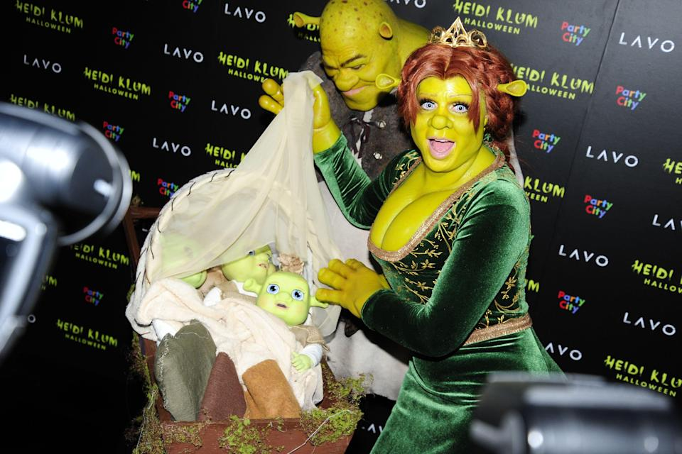"""<p>When you think of celebrities and <a href=""""https://www.elle.com/uk/halloween/"""" rel=""""nofollow noopener"""" target=""""_blank"""" data-ylk=""""slk:Halloween"""" class=""""link rapid-noclick-resp"""">Halloween</a>, it won't take long before you're recalling images of model Heidi Klum's legendary spooky getups over the years.</p><p>From Lady Godiva, Betty Boop and Red Witch to Forbidden Fruit, 'Bodies' Cadavar, and a 95-year-old Heidi, the German runway star continues to hit it out of the park when it comes to nailing top marks for effort, difficulty, patience and accuracy in her <a href=""""https://www.elle.com/uk/fashion/trends/g16320/celebrity-halloween-costumes/"""" rel=""""nofollow noopener"""" target=""""_blank"""" data-ylk=""""slk:Halloween costumes"""" class=""""link rapid-noclick-resp"""">Halloween costumes</a>. </p><p>Prosthetics are just the tip of the iceberg for Klum's costumes, with the star having sported fake varicose veins, eye lenses, faux breasts, and purple body paint for her most talked about outfits. </p><p>Join us as we take a look back at the German businesswoman's most eclectic and, let's face it, bonkers Halloween costumes over the years showing us that more is always more. </p>"""