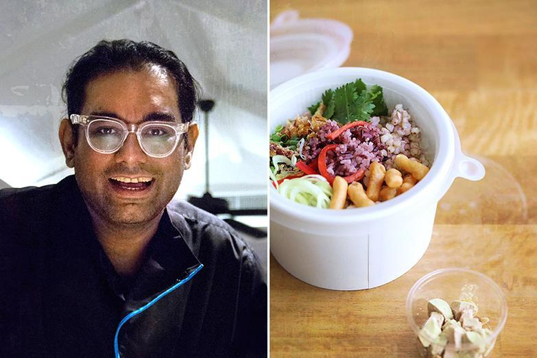Chef Gaggan Anand has partnered with Greyhound Café and GrabFood Thailand to create a delivery-only menu.