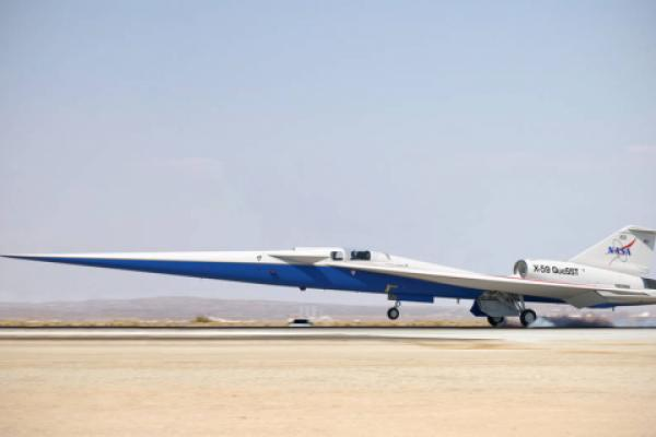 NASA approves final assembly for Lockheed's quiet, supersonic X-plane