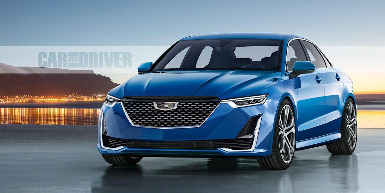 2020 cadillac ct5 and 2021 ct3/4: the ats and cts, renamed