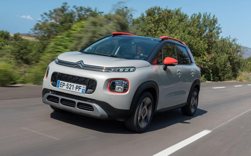Sunny disposition: the C3 Aircross looks jaunty and fun
