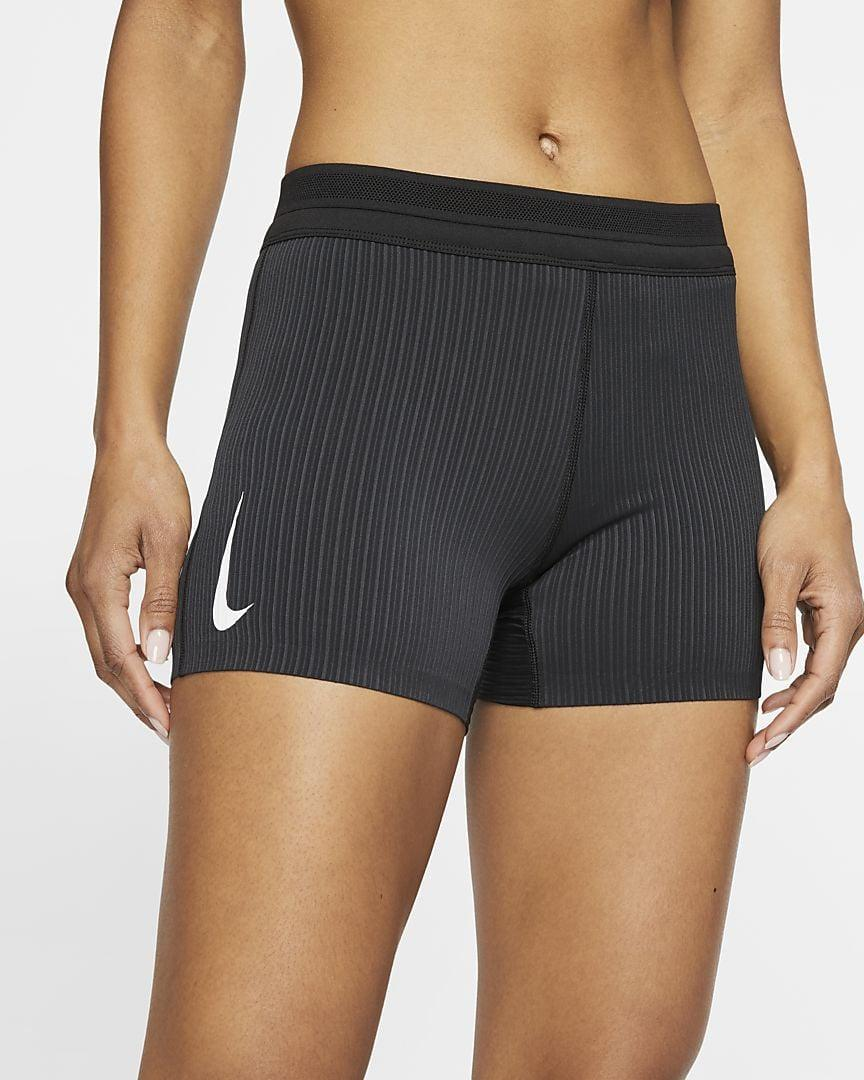 """<p>""""If you prefer to run in shorts but can't find a pair that won't ride up as soon as you begin striding, I recommend the <span>Nike AeroSwift Women's Tight Running Shorts</span> ($65)."""" - Tamara Pridgett, associate editor, Fitness.</p>"""