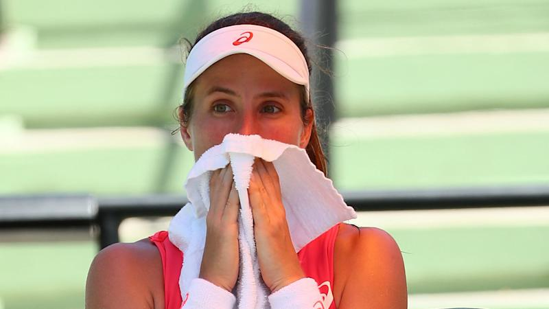 ITF president slams Nastase abuse after Konta is reduced to tears