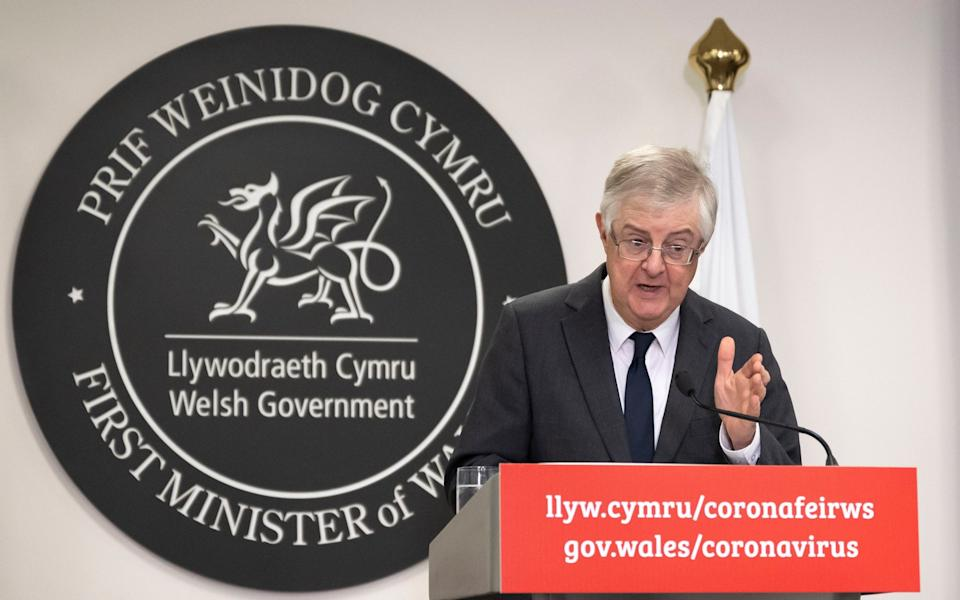 First Minister of Wales Mark Drakeford - Getty Images Europe/Matthew Horwood