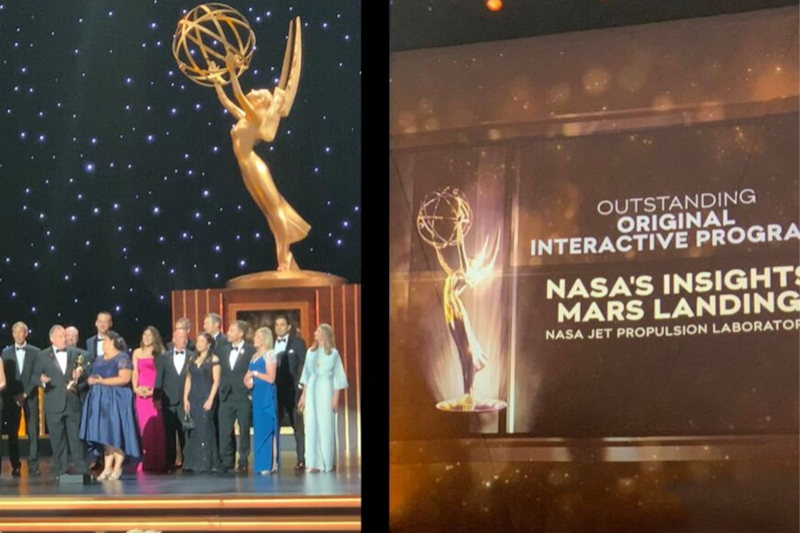 Not Just Space, NASA is Winning Big at the Emmy's For Coverage on Mars