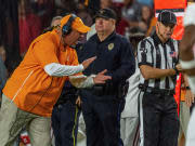 VIDEO: Jeremy Pruitt post game from Alabama