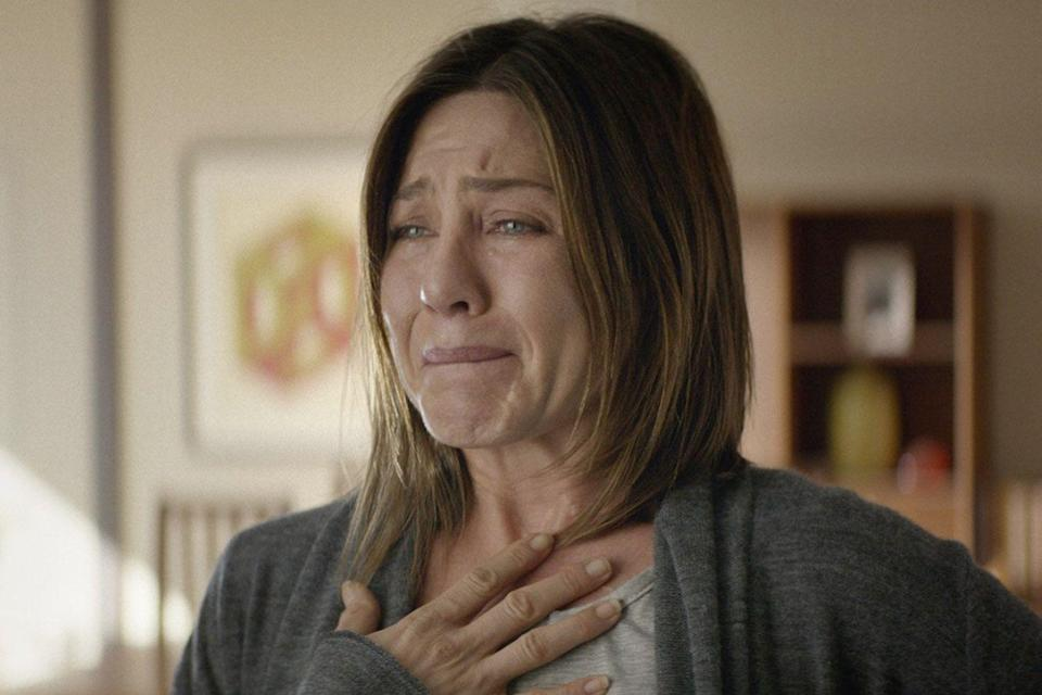 "<p>One of Aniston's most powerful performances, she plays a woman dealing with chronic pain, both physical and emotional. Definitely a far cry from <em>Friends</em>.</p><p><a class=""link rapid-noclick-resp"" href=""https://www.amazon.com/Cake-Adriana-Barraza/dp/B00WG1GYMO/ref=sr_1_2?tag=syn-yahoo-20&ascsubtag=%5Bartid%7C10063.g.36311626%5Bsrc%7Cyahoo-us"" rel=""nofollow noopener"" target=""_blank"" data-ylk=""slk:WATCH NOW"">WATCH NOW</a></p>"