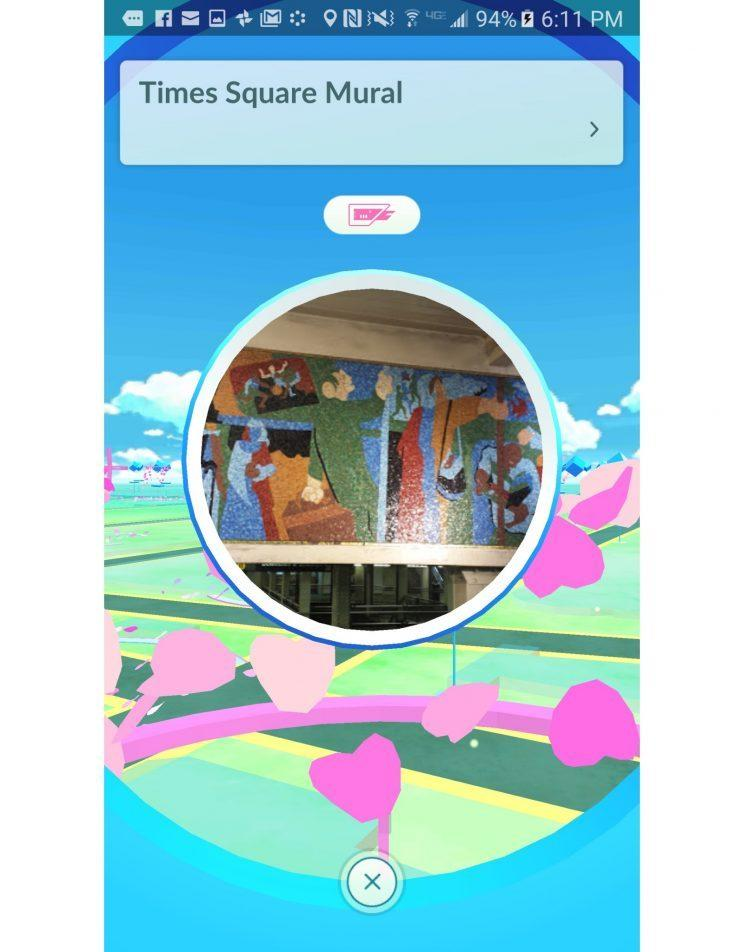 PokéStops are your friend.