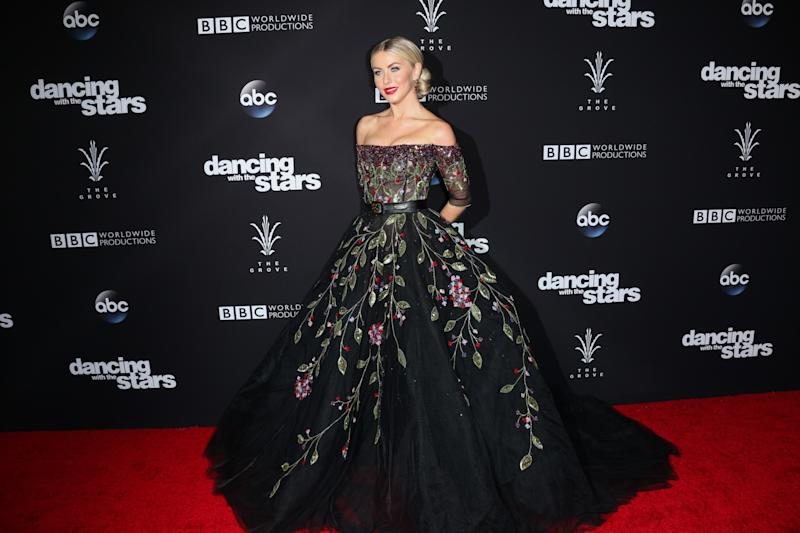 Julianne Hough attended ABC's 'Dancing With The Stars' season 23 finale on November 22, 2016 in Los Angeles. (Photo: Getty Images)