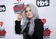 Television personality Kelly Osbourne poses at the 2016 iHeartRadio Music Awards in Inglewood, California, April 3, 2016. REUTERS/Danny Moloshok