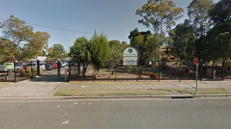 Whalan Public School in Sydney's west has apologised to parents after students were issued the migration survey. Source: Google Street View