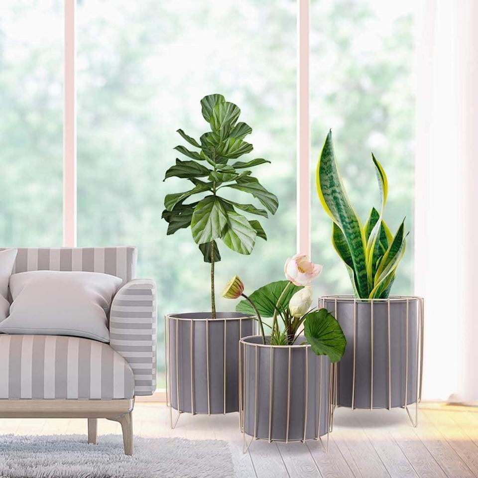 <p>This <span>Sinolodo Large Planter (Set of 3)</span> ($72, originally $80) will enhance your minimally decorated living room.</p>