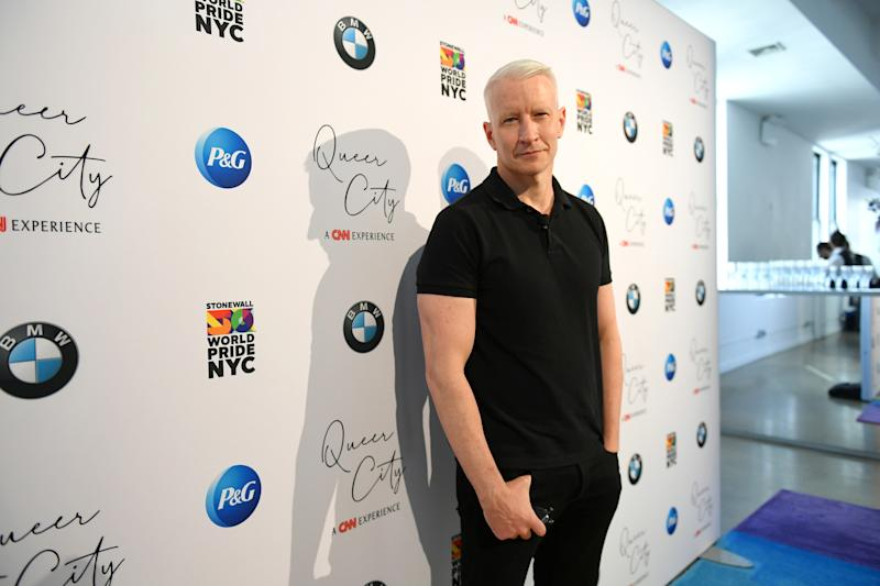 NEW YORK, NEW YORK - JUNE 27: CNN Anchor Anderson Cooper attends QUEER CITY: A CNN Experience on June 27, 2019 in New York City. 622001 (Photo by Mike Coppola/Getty Images for CNN)
