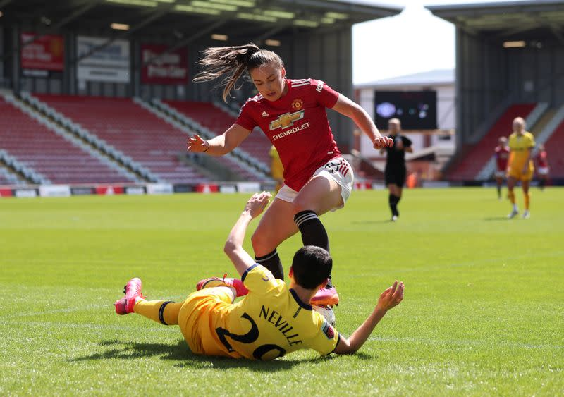 Women's Super League - Manchester United v Tottenham Hotspur