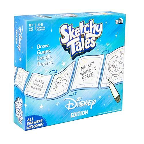 Disney Sketchy Tales Board Game | Magical Drawing Disney Game for Kids (Amazon / Amazon)