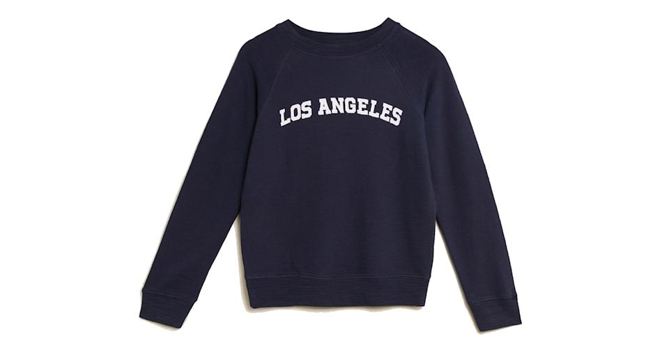Pure Cotton Los Angeles Slogan Sweatshirt