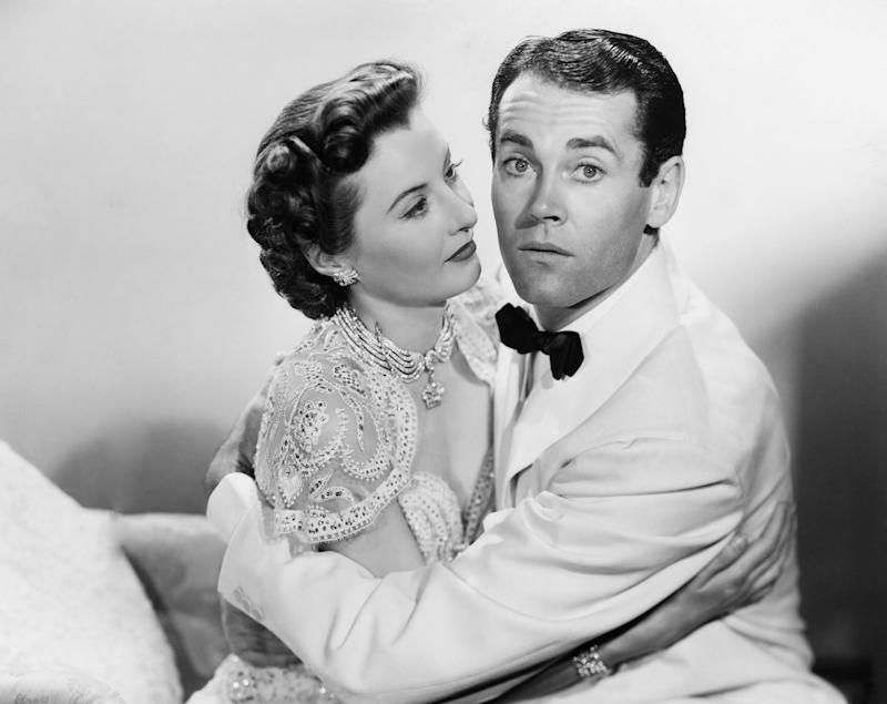 Barbara Stanwyck and Henry Fonda in The Lady Eve.