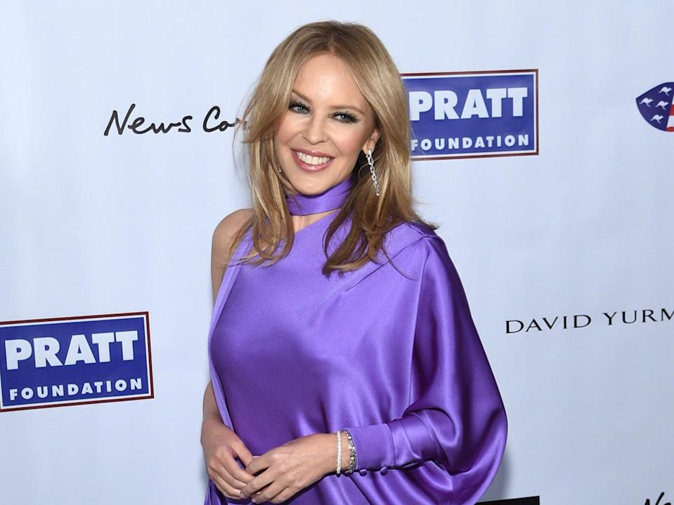 Kylie Minogue attends the 2020 AAA Arts Awards (Getty Images)
