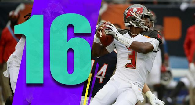 <p>Jameis Winston is by far the most important story with this team, but rookie running back Ronald Jones is a big one too. (Jamies Winston) </p>