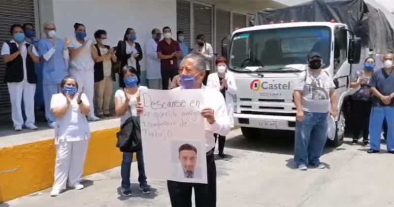 Foto: Captura de video Facebook vía @Hospital Las Americas Ecatepec