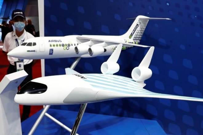 Airbus maveric, airbus' star wars like plane, airbus' environment-friendly plane, aviation environment change efforts, climate crisis and aviation industry, innovation in airplane manufacturers, innovation towards environment in aviation