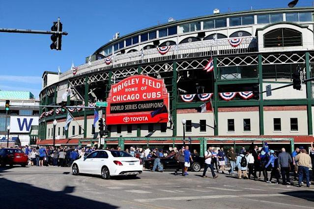 A Cubs fan died at Wrigley Field on Tuesdaynight. (Getty)