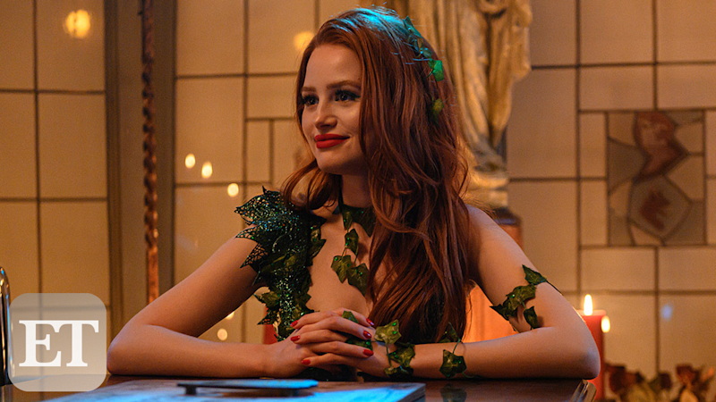 'Riverdale' First Look: Madelaine Petsch and Vanessa Morgan React to Choni's Halloween Costumes! (Exclusive)