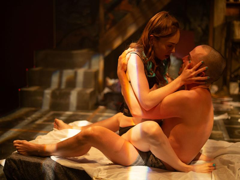 Louisa Connolly-Burnham and Rob Rees in 'Beirut': Loranc Sparsi