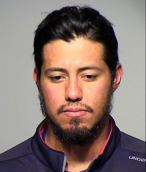 This photo provided by the Milwaukee County Sheriff shows Milwaukee Brewers pitcher Yovani Gallardo. Gallardo was cited for drunken driving Tuesday, April 16, 2013, after authorities said he drove with a blood-alcohol content nearly three times the legal limit. (AP Photo/Milwaukee County Sheriff)