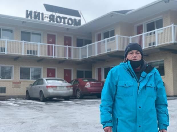 Darren Donovan has been living in a motel in Dartmouth since the middle of January after being evicted from his apartment.