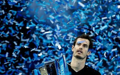 <span>Murray closed the year as world No 1</span> <span>Credit: AP </span>