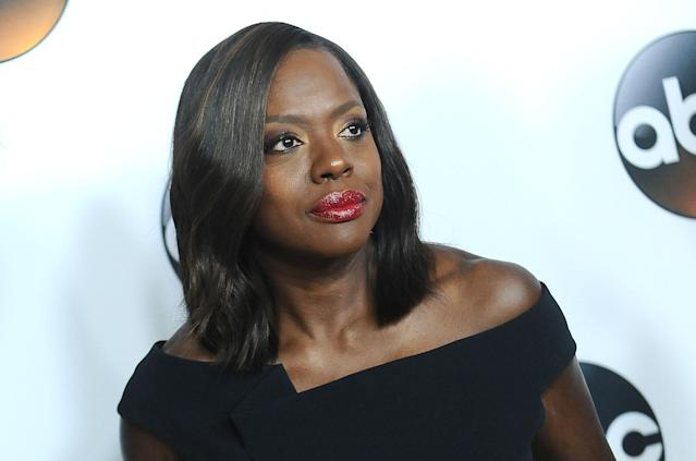 Viola Davis attends the Disney ABC Television Group TCA summer press tour at the Beverly Hilton Hotel on Aug 6, 2017, in Beverly Hills, California. (Photo: Getty Images)