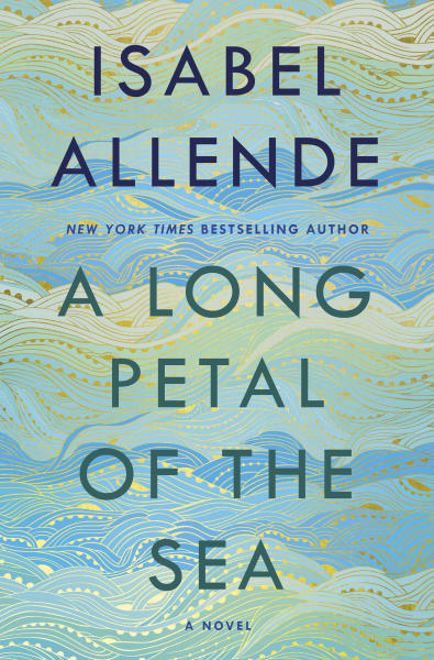 """This cover image released by Random House shows """"A Long Petal of the Sea,"""" by Isabel Allende. (Random House via AP)"""