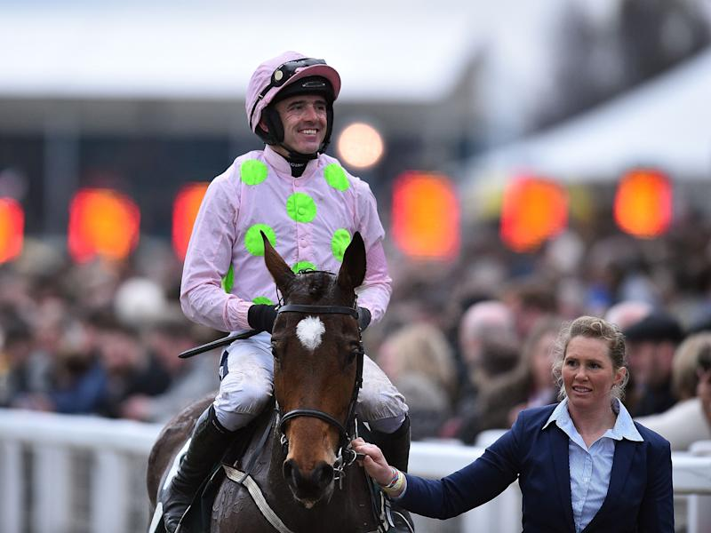 Ruby Walsh put two days of misfortune behind him to claim four wins on Thursday: Getty