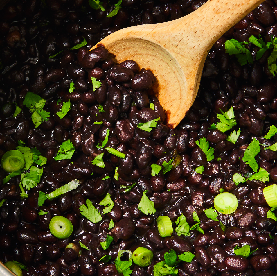 """<p>Cooking with dried black beans is always better than using canned. And while it's easy to <a href=""""https://www.delish.com/uk/food-news/a30386378/how-to-cook-black-beans/"""" rel=""""nofollow noopener"""" target=""""_blank"""" data-ylk=""""slk:cook black beans"""" class=""""link rapid-noclick-resp"""">cook black beans</a>, it can take a long time and some forethought. There is no need to think ahead with the Instant Pot. You can cook dried beans in 35 minutes, meaning you can still use them in that <a href=""""https://www.delish.com/uk/cooking/recipes/a33344288/nacho-soup-recipe/"""" rel=""""nofollow noopener"""" target=""""_blank"""" data-ylk=""""slk:Nacho Soup"""" class=""""link rapid-noclick-resp"""">Nacho Soup</a> you were planning on making tonight. Easy peasy. </p><p>Get the <a href=""""https://www.delish.com/uk/cooking/recipes/a33344252/instant-pot-black-beans-recipe/"""" rel=""""nofollow noopener"""" target=""""_blank"""" data-ylk=""""slk:Instant Pot Black Beans"""" class=""""link rapid-noclick-resp"""">Instant Pot Black Beans</a> recipe.</p>"""