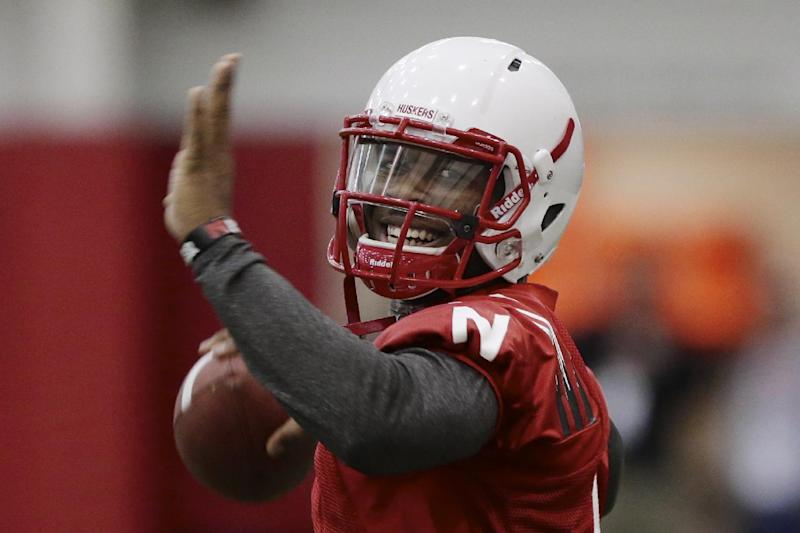 Huskers' Jamal Turner opens spring practice at QB