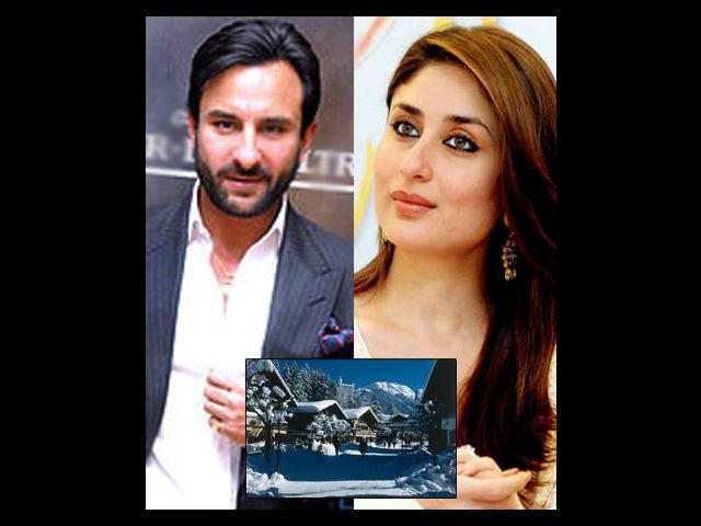<b>Saif-Kareena Gstaad (Switzerland)<br> </b>The much-awaited wedding and the following exuberant reception of the Chhote Nawab and younger Kapoor sister kept this couple in headlines for a long time. For their honeymoon they chose the beautiful Gstaad amidst the scintillating Swiss Alps. It was not their first time together there. This beautiful couple is known to have stayed there on their earlier vacations.