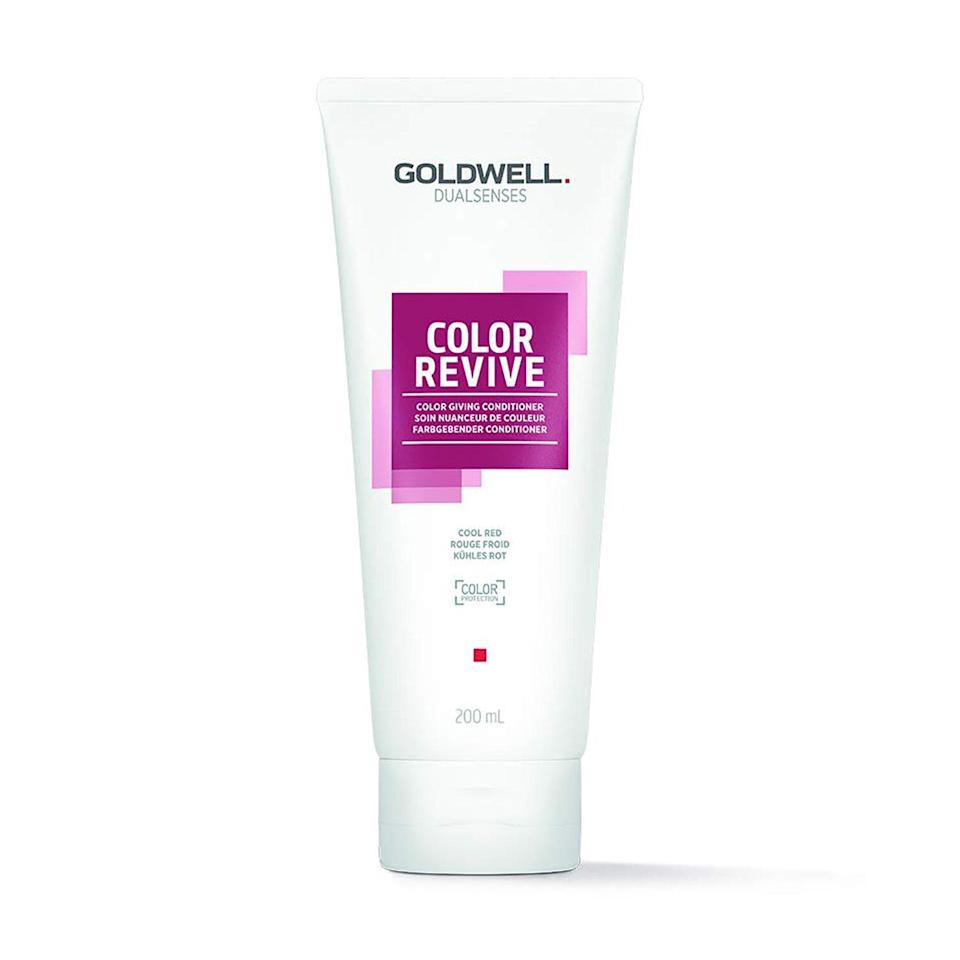 Goldwell Dualsenses Color Revive Color Giving Conditioner in Warm Red