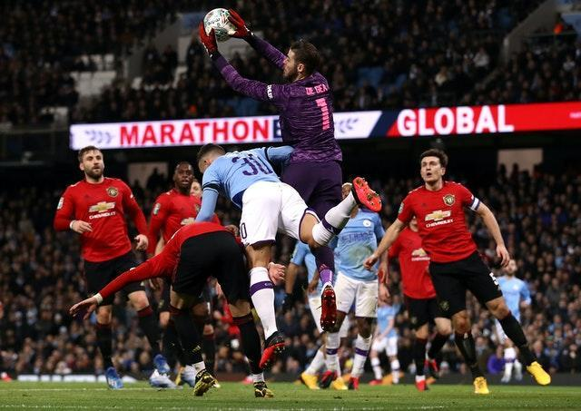 Next week's repeat of last season's Carabao Cup semi-final against neighbours Manchester United could be under threat