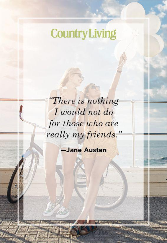 "<p>""There is nothing I would not do for those who are really my friends.""</p>"