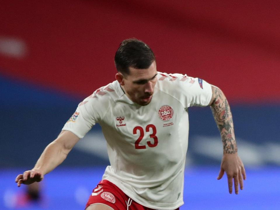 Tottenham and Denmark's Pierre-Emile Hojbjerg (Getty Images)
