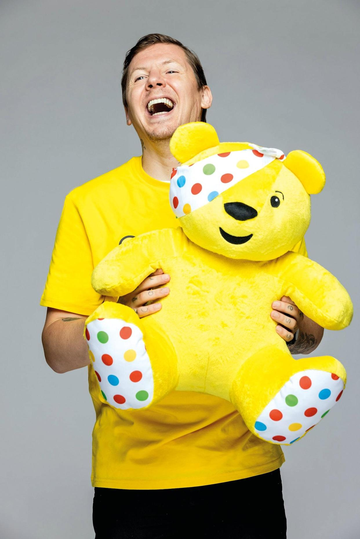 Professor Green supports BBC Children in Need Together We Can campaign